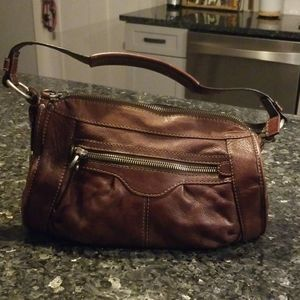 Stylish Fossil brown purse, like new condition